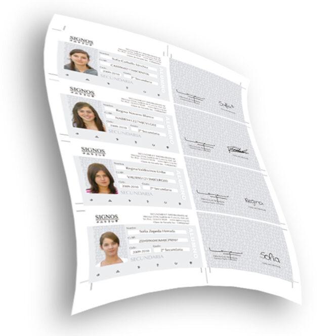 Identificación | Credencial